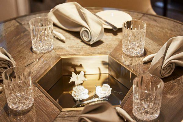Schwarzreiter Restaurant Tisch